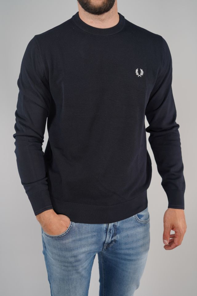 Fred Perry Felpa Textured Front Panel Jumpe