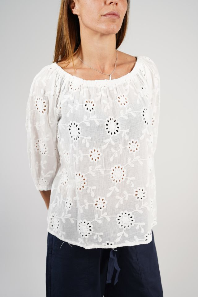 Deha Maglia D23101 Embroidered Blouse