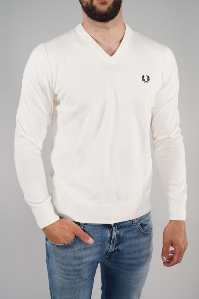 Fred Perry Maglione Classic V-Neck Fred Perry