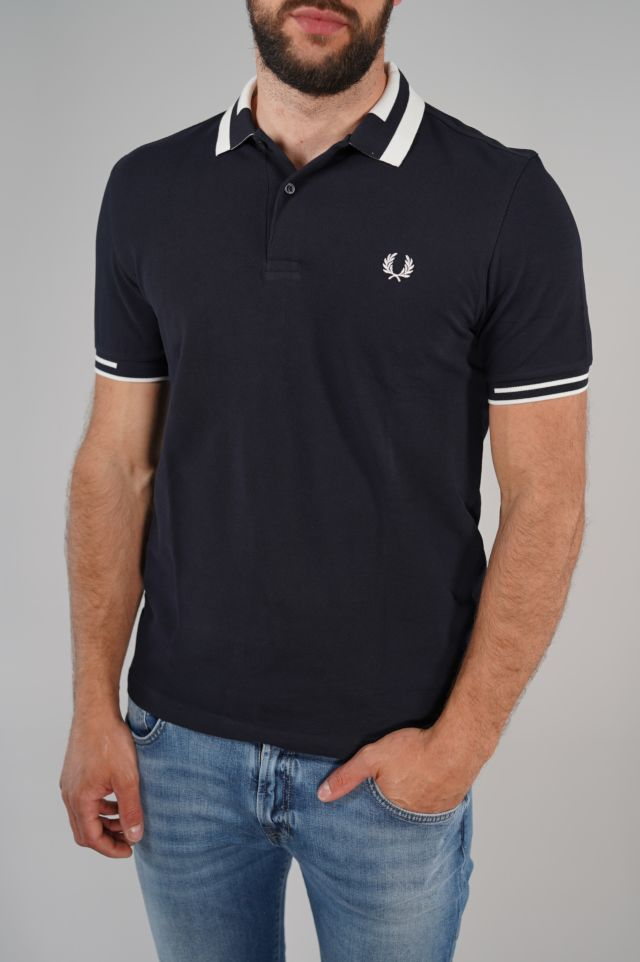 Fred Perry Polo Block Tipped Polo Shirt