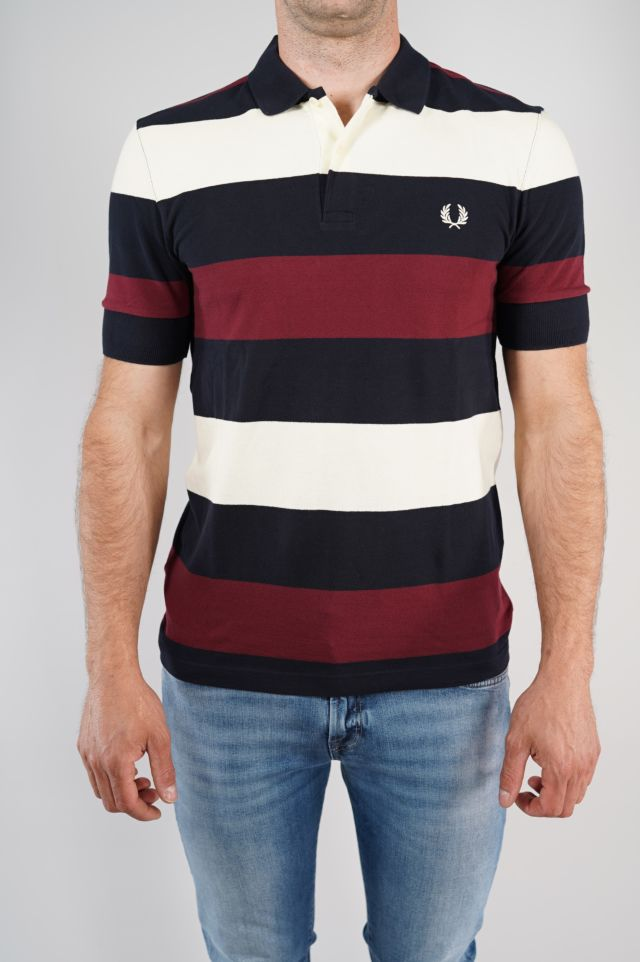 Fred Perry Polo Twin Tipped Stripe Polo Shi