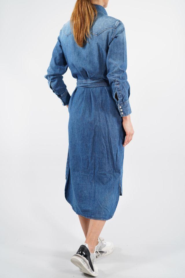 Roy Roger's Dress Marlena Woman Denim Pepe