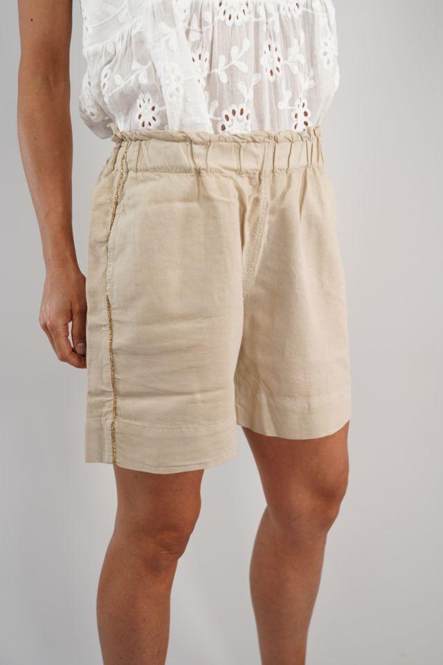 Deha Shorts D23106 Linen Shorts