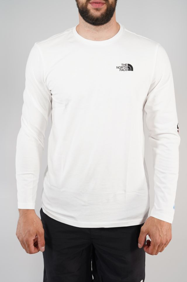 The North Face T-shirt manica lunga Graphic Flo