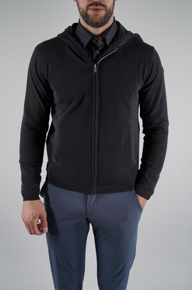 RRD Felpa Light Knit Zip Hood Rev 20077