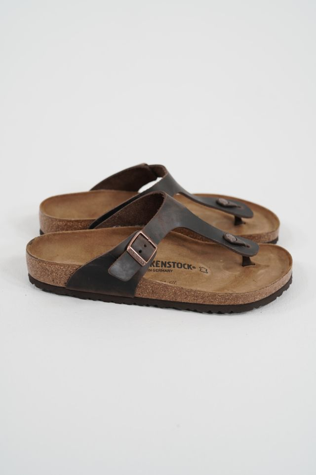 Birkenstock Gizeh 743831 habana, Oiled Leather - Calz. N