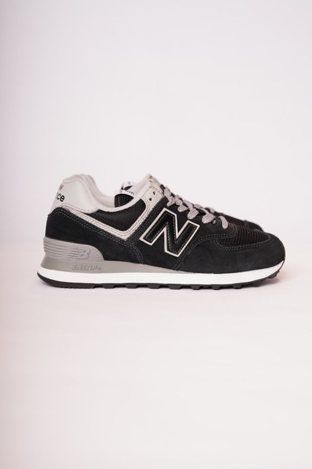 New Balance Sneakers 574 Suede/Mesh Woman