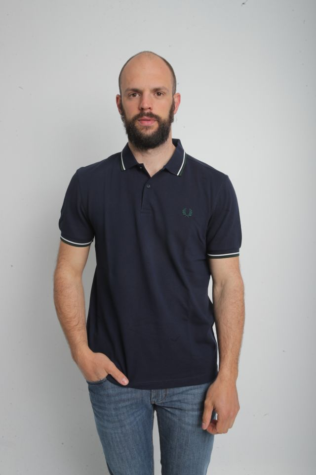 Fred Perry Polo TWIN TIPPED M3600