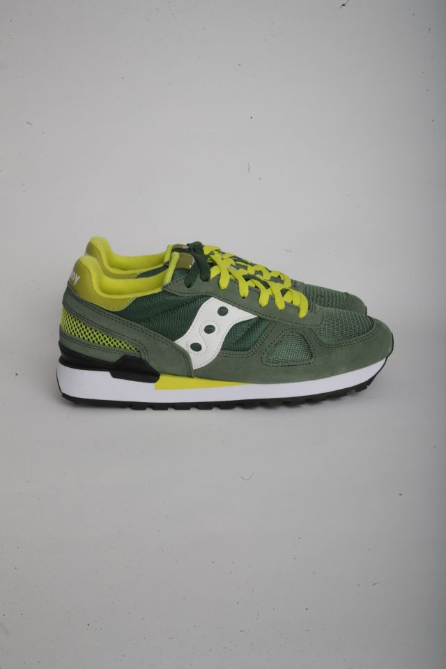 Saucony SHADOW ORIGINAL Man GREEN/WHITE/YELLOW (S2108-776)