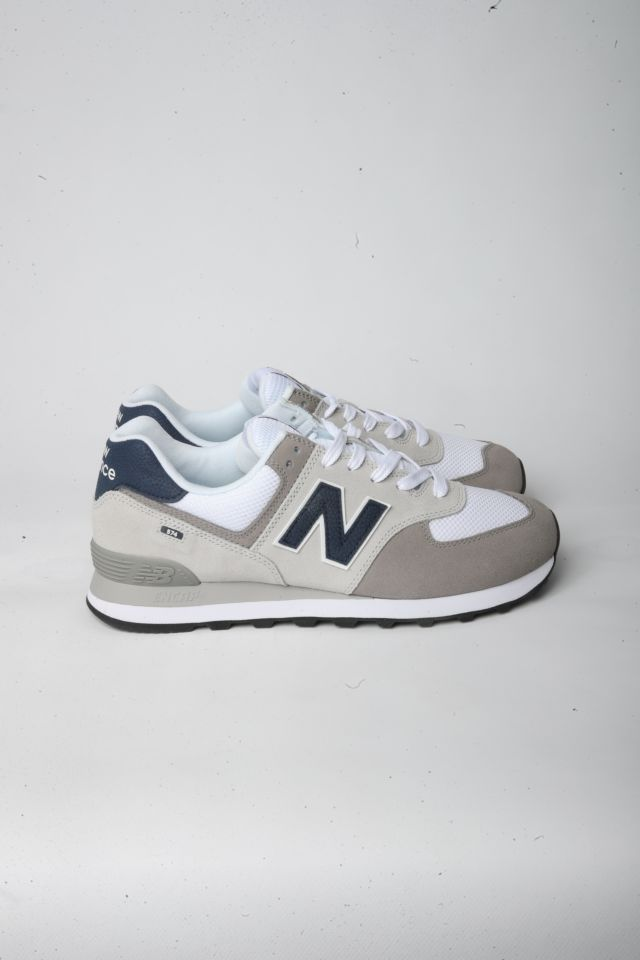 New Balance Sneakers NBML 574 EAG Lifestyle UOMO Suede/Mesh GREY/WHITE D