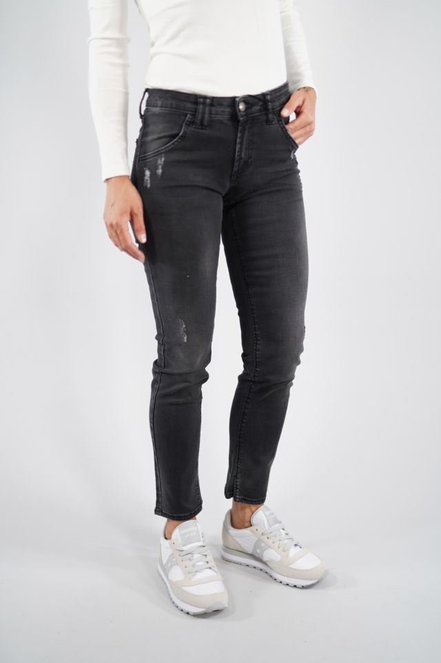 Roy Roger's Jeans Elionor Woman Denim Black
