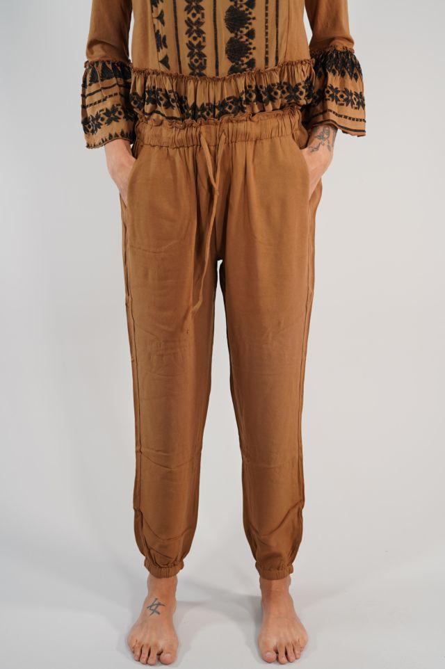 Deha Pantaloni D23206 Viscose Pants