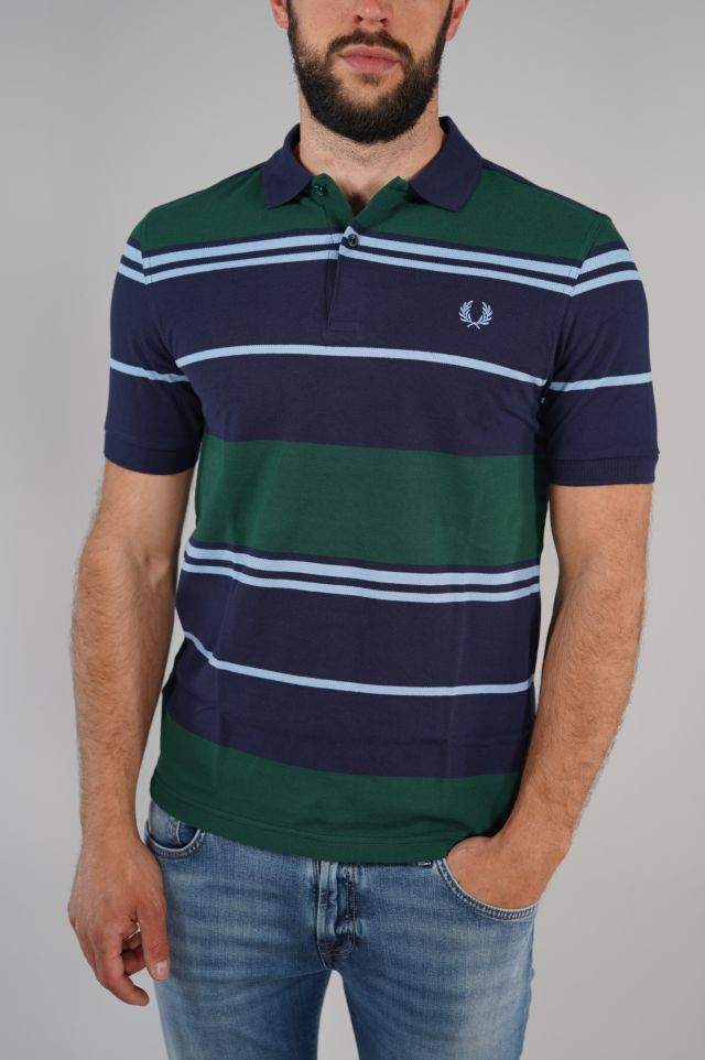 Fred Perry Polo Stripe Polo Shirt FP-M8537-