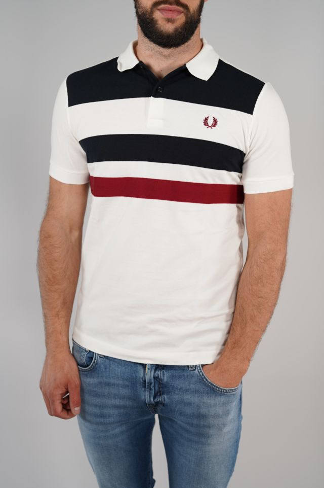 Fred Perry Polo Tape Detail Polo Shirt FredPerry