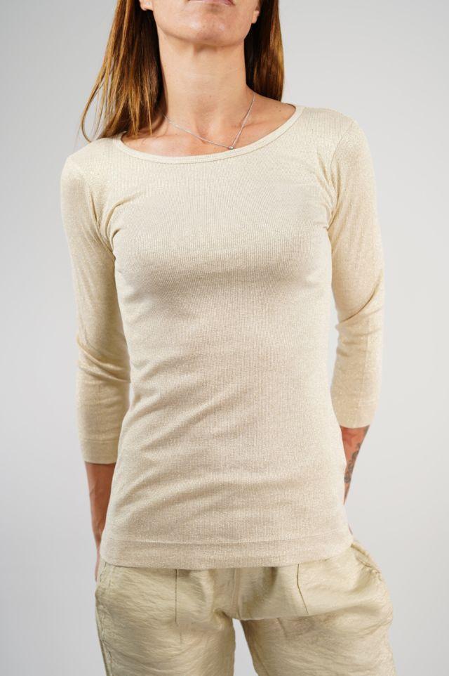 Deha T-shirt D23170 LUREX T-SHIRT