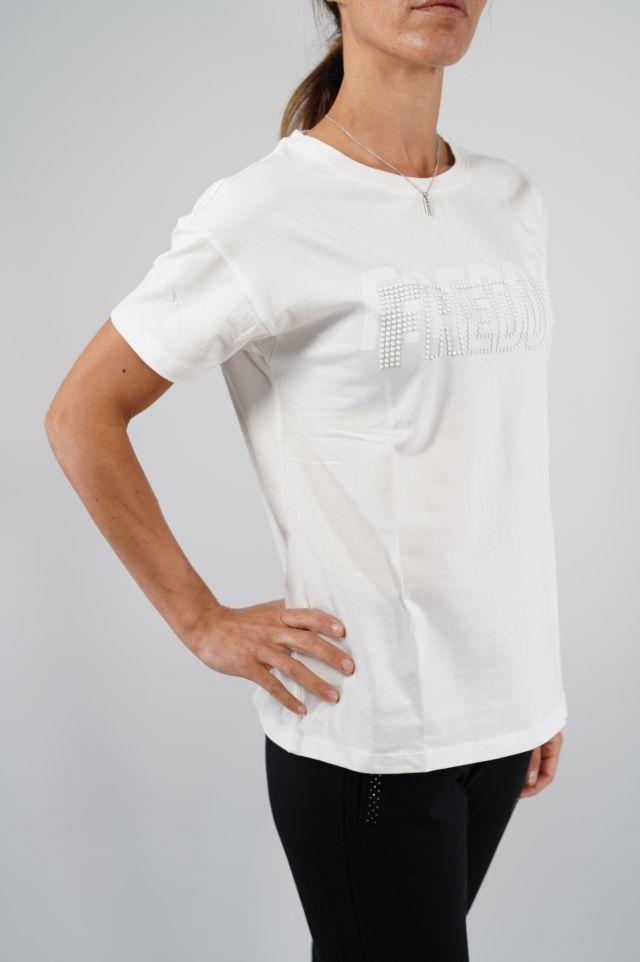 Freddy T-shirt WFYT1 tshirt manica cort