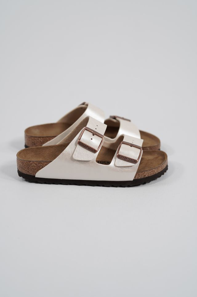 Birkenstock Arizona 1009921 graceful pearl white, Birko Flor Graceful - Calz. S