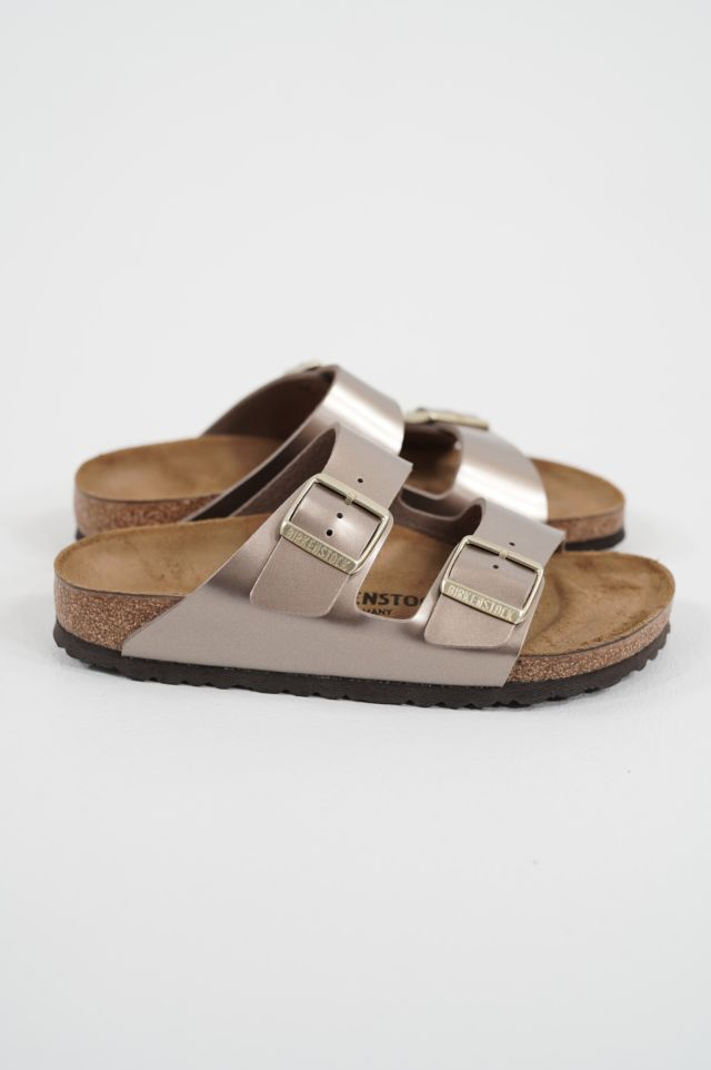 Birkenstock Arizona 1012972 electric metallic taupe, Birko Flor - Calz. S