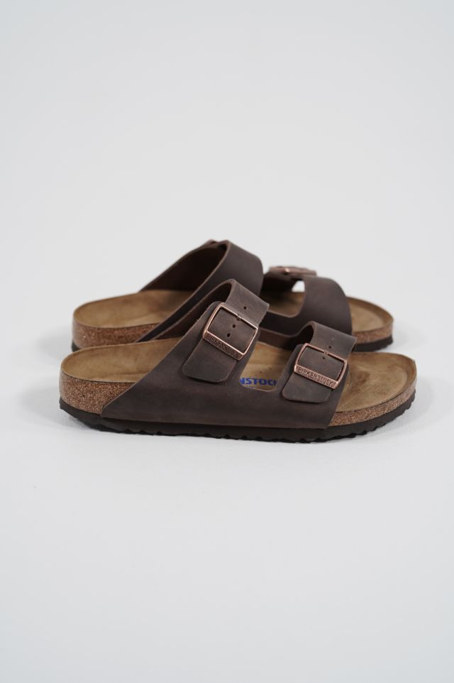 Birkenstock Arizona 452763 SFB habana, Oiled Leather - Calz. S