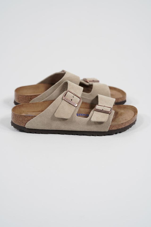 Birkenstock Arizona 951303 SFB taupe, Suede Leather - Calz. S