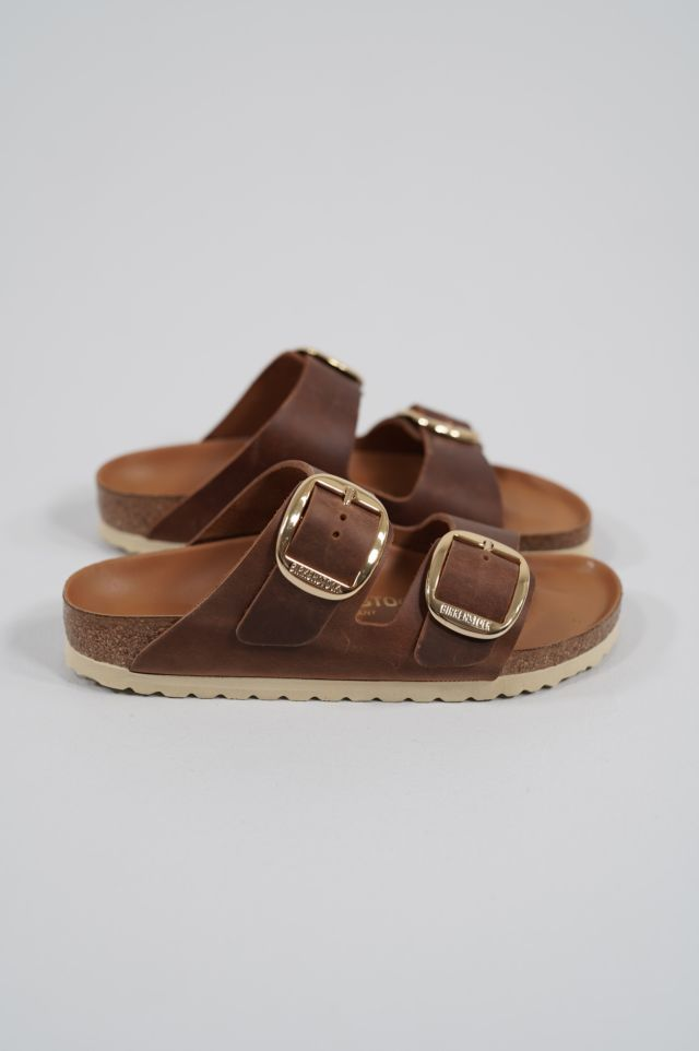 Birkenstock Arizona Big Buckle 1011073 cognac, Oiled Leather - Calz. S