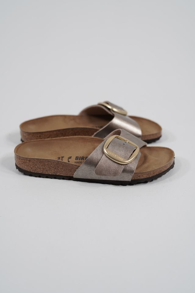 Birkenstock Madrid Big Buckle 1016237 graceful taupe, Birko Flor - Calz. S