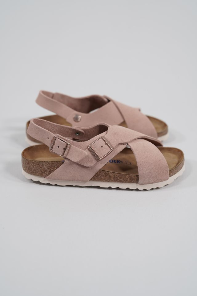 Birkenstock Tulum SFB 1015896 light rose, Suede Leather - Calz. S