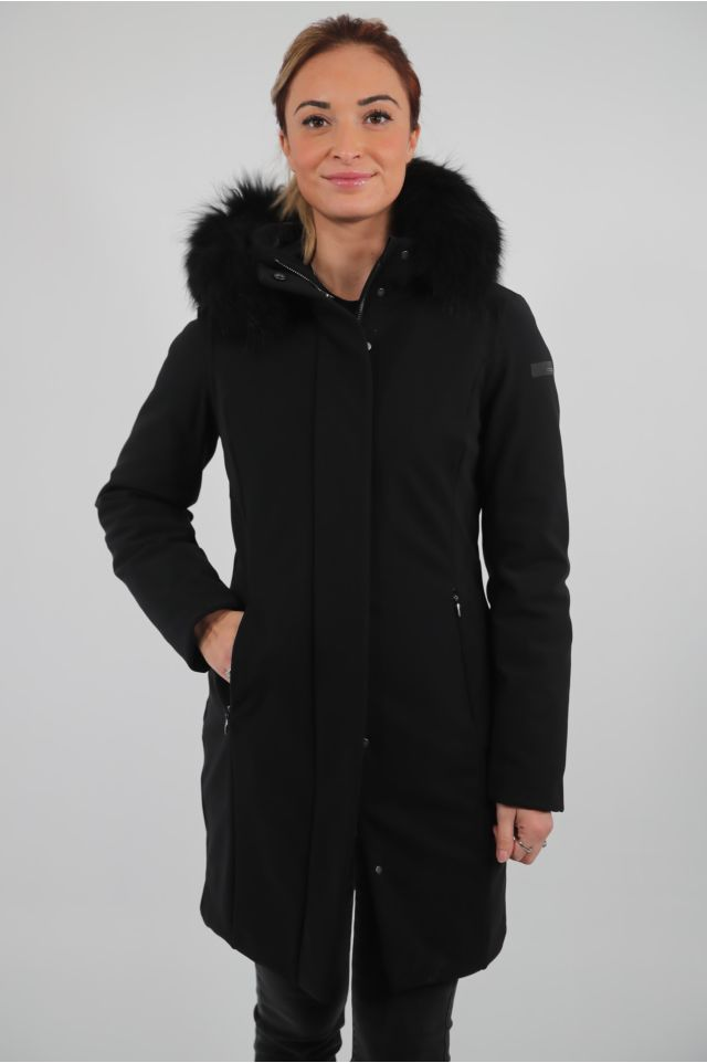 RRD Cappotto W20501FT - WINTER LONG LADY FUR