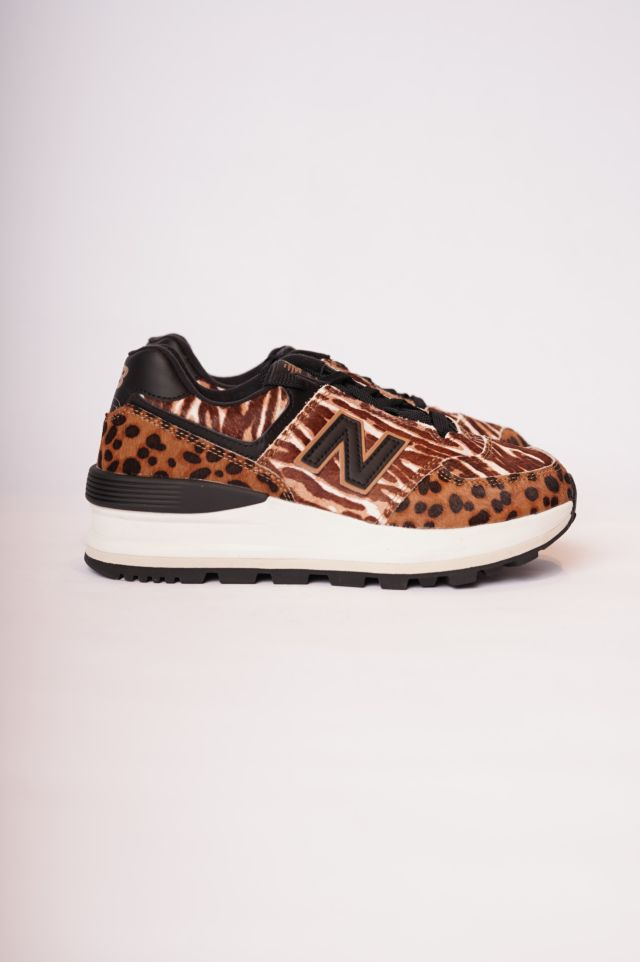New Balance Sneakers 574 Animal Print