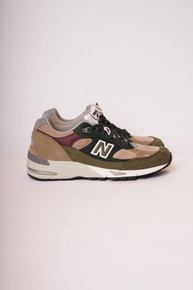 New Balance Sneakers 991 Nabuck/Pigskin