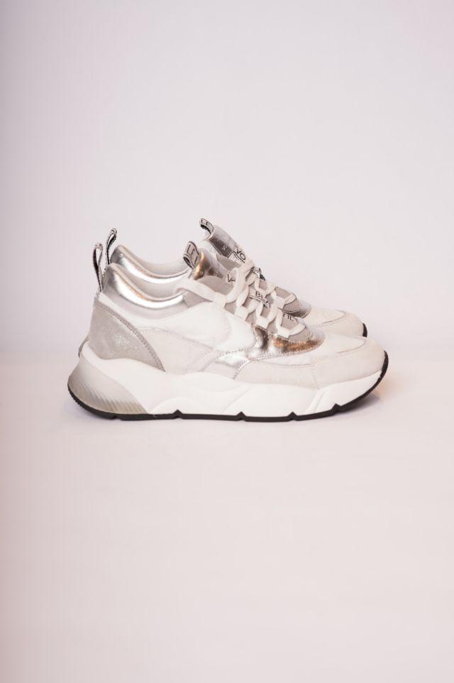 Voile Blanche Sneakers Alexas (Velour/Nylon/Laminato)