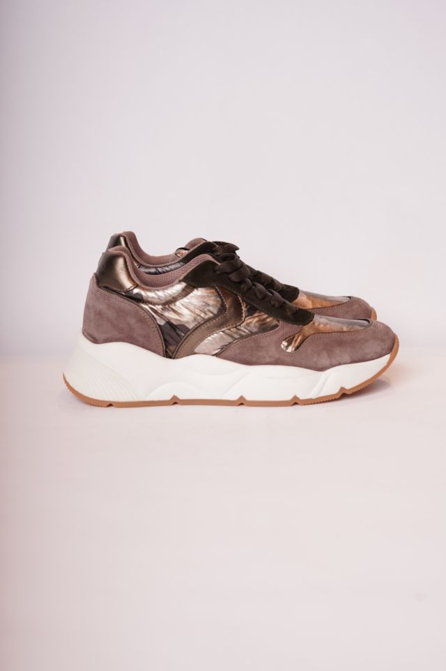 Voile Blanche Sneakers Sheel (Velour/Camo lux)