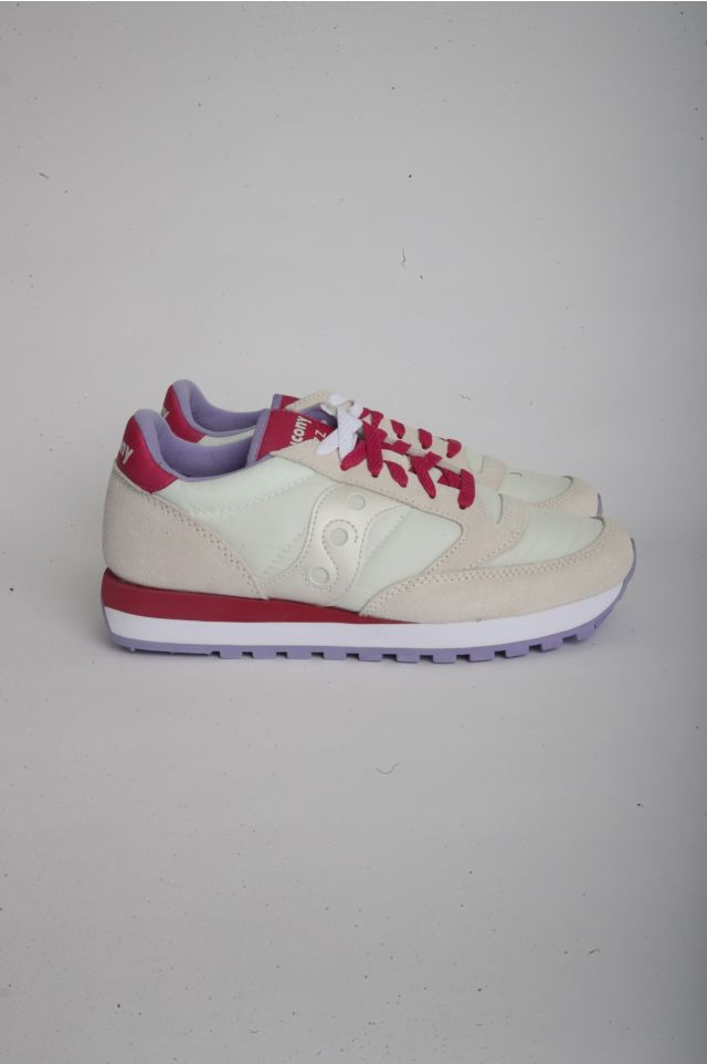 Saucony JAZZ O Woman OFF WHITE/BERRY (S1044-570)