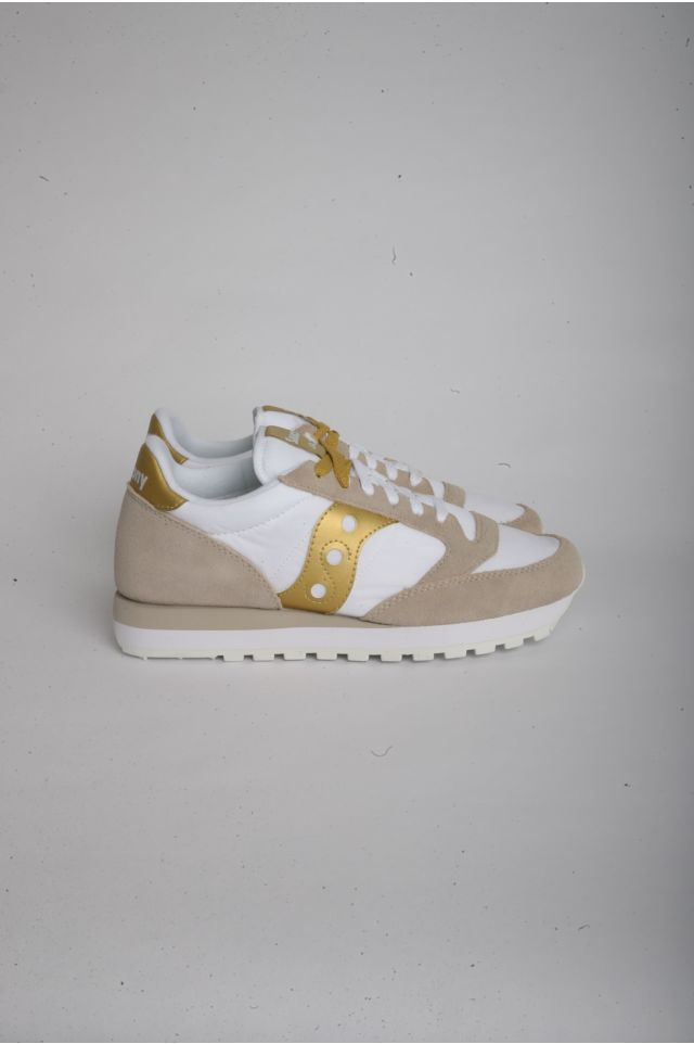 Saucony JAZZ O Woman WHITE/GOLD (S1044-611)