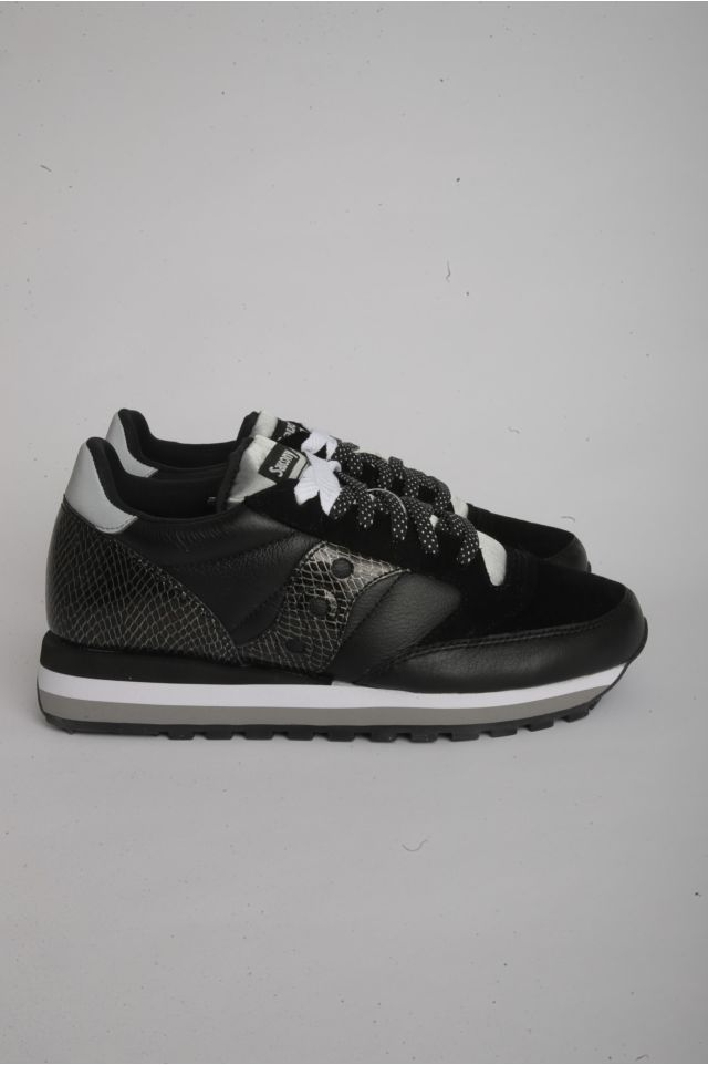 "Saucony JAZZ TRIPLE Woman ""SNAKESKIN"" - SMU BLACK/SNAKE (S60550-2)"