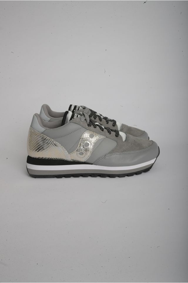 "Saucony JAZZ TRIPLE Woman ""SNAKESKIN"" - SMU GREY/SNAKE (S60550-3)"
