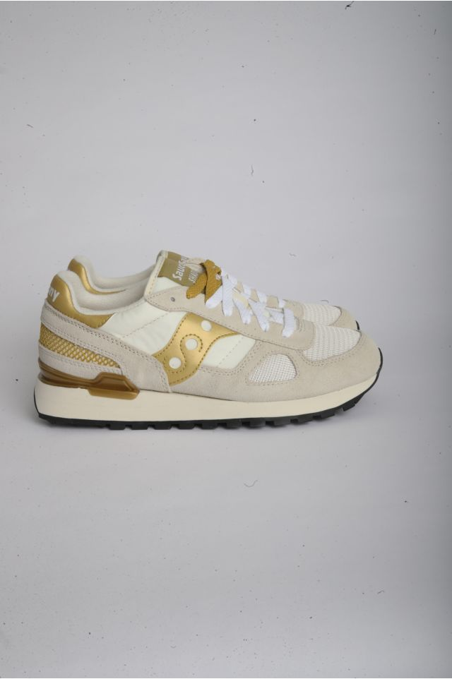 Saucony SHADOW ORIGINAL Woman WHITE/GOLD (S1108-720)
