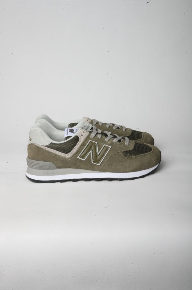 New Balance Sneakers NBML 574 EGO Lifestyle UOMO Suede/Mesh  OLIVE D