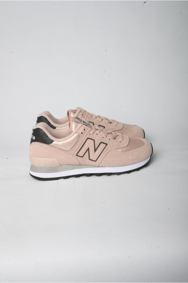 New Balance Sneakers WL 574 FL2 Lifestyle DONNA Suede/Textile ROSE WATER