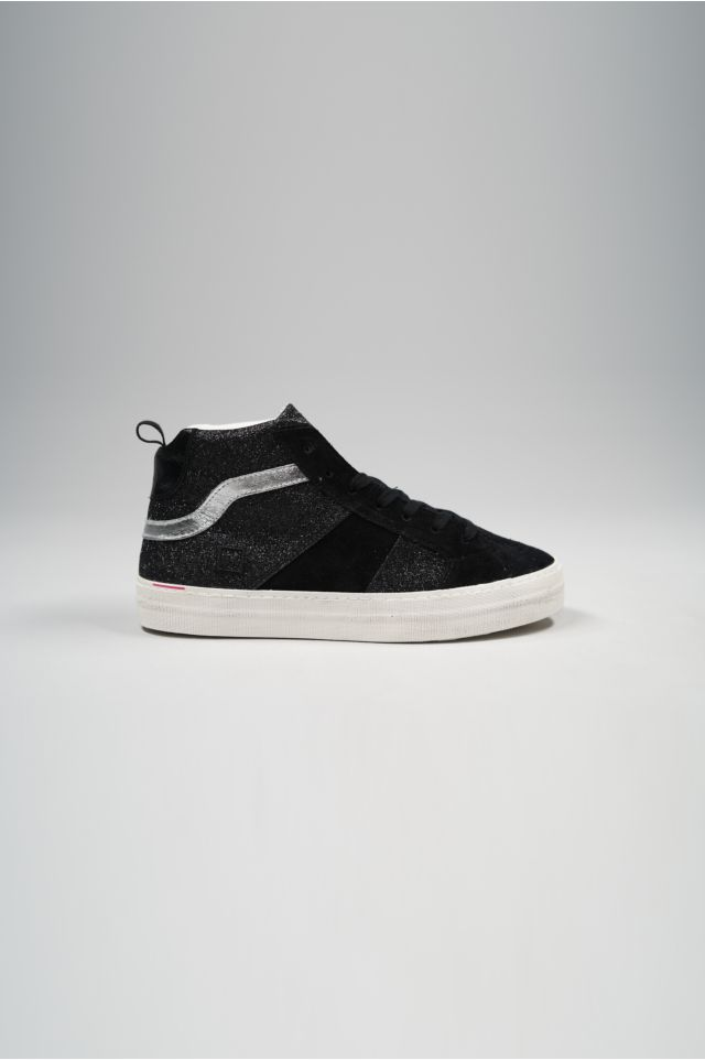 D.A.T.E. Sneakers HAWK GLITTER BLACK W311