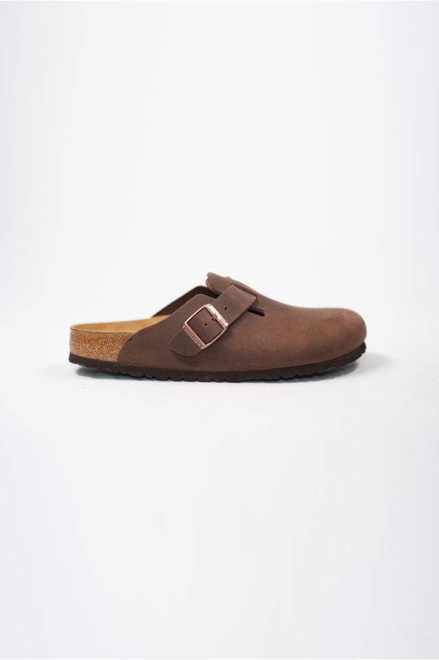 Birkenstock Sandali BOSTON OILED LEATHER HABANA